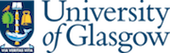 Colour logo of The University of Glasgow showing the University's coat of arms next to the University name