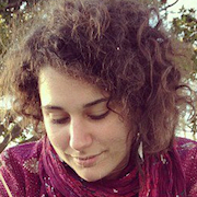 Colour portrait photograph of Cécilia Gauvin, IMPASTOW project research assistant at the University of Glasgow
