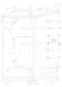 Design outline for the IMPASTOW environmental chamber