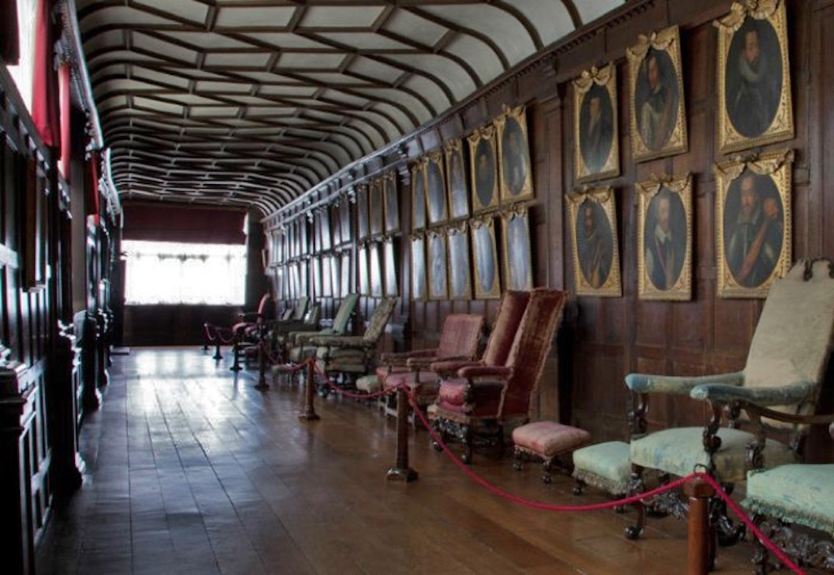 The Brown Gallery at Knole House