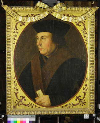 Knole House portrait of Thomas Cromwell (Brown Gallery, painting no. 29)