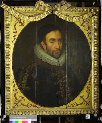Knole House portrait of William of Nassau (Brown Gallery, painting no. 34)