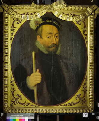 Knole House portrait of William Herbert (Brown Gallery, painting no. 36)