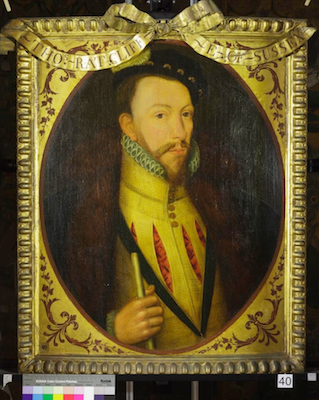 Knole House portrait of Thomas Radcliffe (Brown Gallery, painting no. 40)