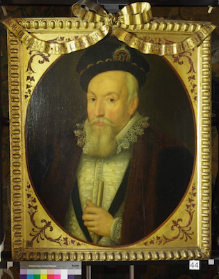 Knole House portrait of Robert Dudley (Brown Gallery, painting no. 44)