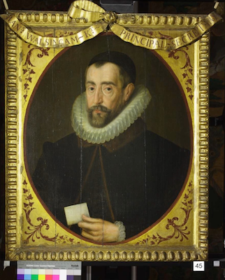Knole House portrait of Sir Francis Walsingham (Brown Gallery, painting no. 45)