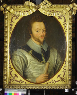 Knole House portrait of Sir John Norris (Brown Gallery, painting no. 48)