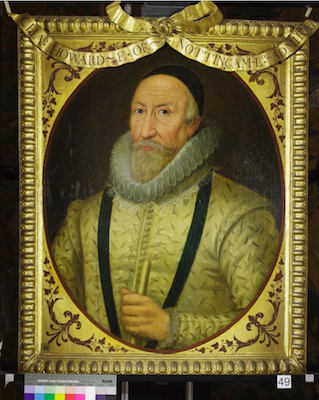 Knole House portrait of Charles Howard (Brown Gallery, painting no. 49)