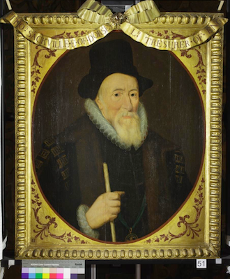 Knole House portrait of Thomas Sackville (Brown Gallery, painting no. 51)