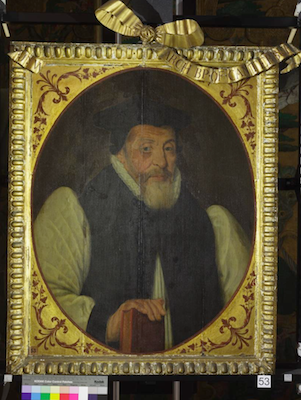 Knole House portrait of John Whitgift (Brown Gallery, painting no. 53)