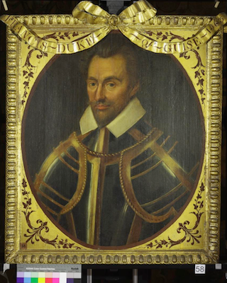 Knole House portrait of Francis of Lorraine (Brown Gallery, painting no. 58)