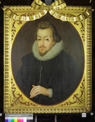 Knole House portrait of Robert Cecil (Brown Gallery, painting no. 60)