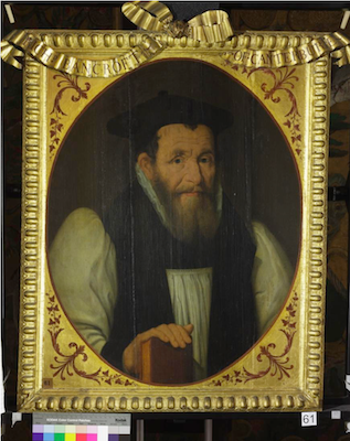 Knole House portrait of Richard Bancroft (Brown Gallery, painting no. 61)