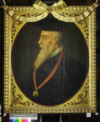Knole House portrait of Alfonso d'Avalos (Brown Gallery, painting no. 63)