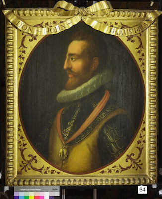 Knole House portrait of John of Austria (Brown Gallery, painting no. 64)