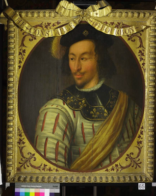 Knole House portrait of Charles III, Duke of Bourbon (Brown Gallery, painting no. 65)