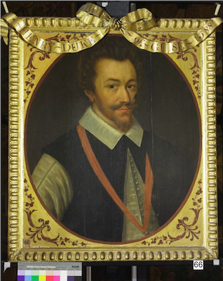 Knole House portrait of Henry of Lorraine (Brown Gallery, painting no. 66)